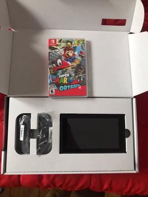 Nintendo Switch + Mario Odyssay