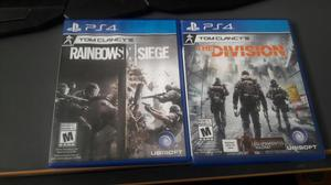 Ps4 Rainbowsix Siege/the Division