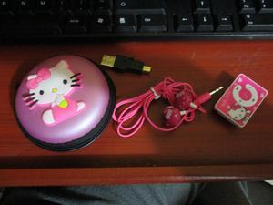 Set MP3 HELLO KITTY
