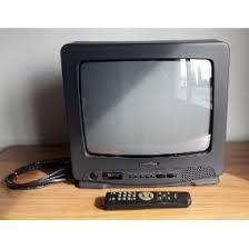 TELEVISOR NEGRO A COLORES 14 PULGADAS SAMSUMG