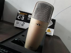Vendo Microfono Condensador Behringer C3 en caja original