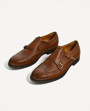 Zapatos Zara Man Oxford Hebillas Guess Tommy