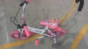 Bicicleta Triciclo Para Niña Aro 12 Regalo Navidad