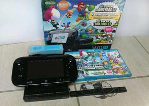 Nintendo Wii U 32 Gb Completo + Control Y Juegos
