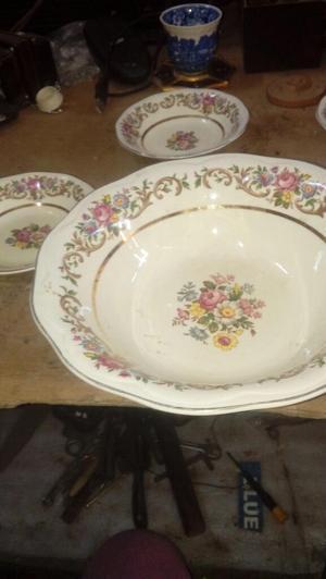 Antiguos Platos de Porcelna Inglesa