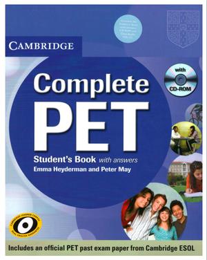 Cambridge Complete PET libros en PDF con Workbook, Teacher's