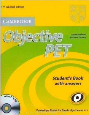 Cambridge Objective PET Student's book y Workbook en PDF con