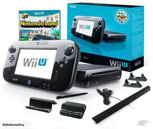 Nintendo Wii U 32gb incluye Juegos Originales