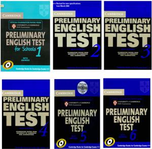 PET Cambridge Preliminary English Test libros 1 al 8 en PDF