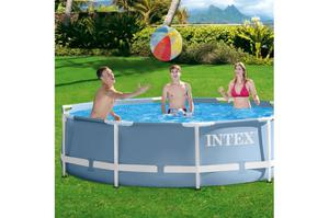 Piscina armable intex 366 x 76 parche posot class for Parches piscina