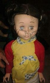 antigua muñeca chilindrina de basa