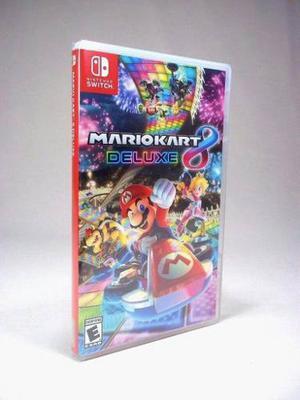Mario Kart Deluxe Nintendo Switch Nuevo Y Sellado