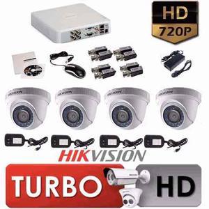 Camaras De Seguridad Hikvision Cel  Instalaciones