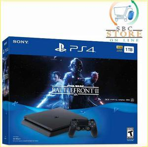 Consola Ps4 1tb Star Wars Battlefront Ii