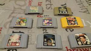 8 Juegos Para N64 Goldeneye, Mario 64, Poke Stadium, Dk, Etc