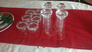 Seis vasos importados nuevos posot class for Vasos copas vidrio