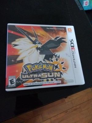 Pokemon Ultra Sol Como nuevo en caja