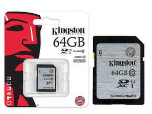 memoria 64 gbsd especial para camara de foto o video
