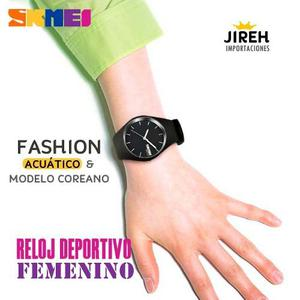 Reloj Femenino Deportivo, Acuático, Gran Calidad Y Fashion
