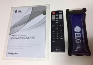 Control Remoto Original Y Manual Para Minicomponente LG
