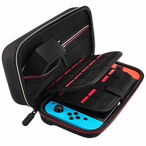 Estuche Protector Deruitu Para Nintendo Switch Black Color