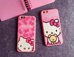 Carcasa de Hello Kitty para iPhone 6,7,6s Y 7s