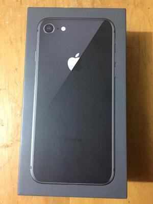 Iphone 8 Color Negro de 64 gb Nuevo Sin uso Libre de Fabrica
