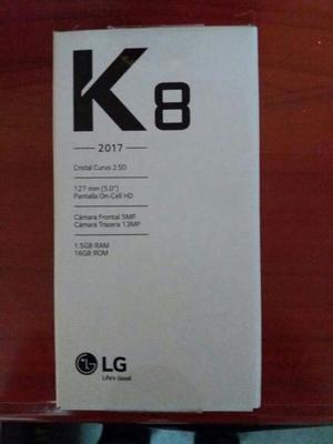 Vendo Lg K Libre 10puntos en Caja