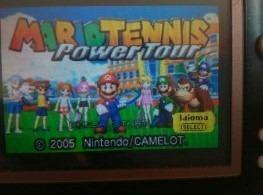 Juego Game Boy Advance Mario Tennis Power Tour