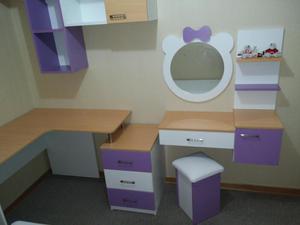 Reposteros, Closets y Muebles en Melamina y MDF, diseño y
