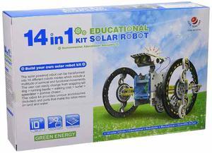 Robot Solar Educativo Ciencias Con Panel Solar Y Robotica