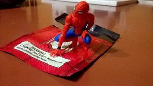 Spiderman Homecoming Muñeco Desk De Coleccion Marvel