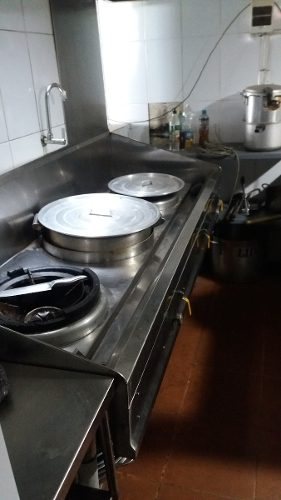 Venta Cocina Chifera De Acero 3 Hornillas
