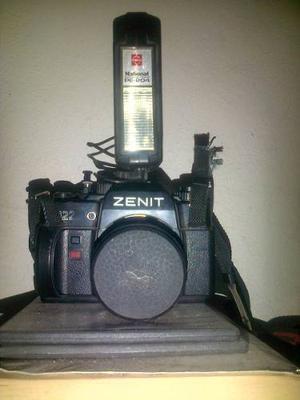Vintage Ruso Zenit 122 Cámara De 35mm
