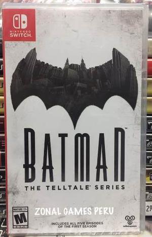 Batman The Telltale Series Nintendo Switch Delievry-envios