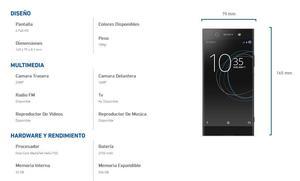SONY Xperia XA1 ULTRA Cam 23mp/ 4GB RAM Liberado, Sellado de