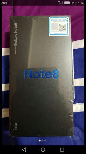 Vendo Note 8 Totalmente Nuevo en Caja
