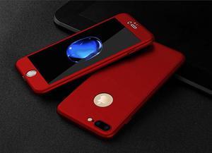 Carcasa, Case Protector 360 grados para iPhone 7, 7 Plus, 8