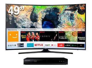 Tv Samsung 49 Uhd 4k Curved Smart Tv Mu Series 6 Nueva E