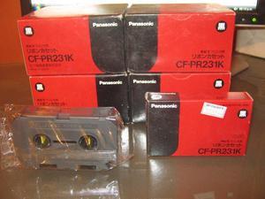 22 CINTAS NUEVAS DE procesador de textos para Panasonic