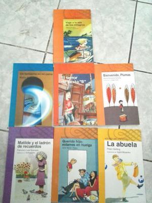 7 Libros Alfacuara Infantil