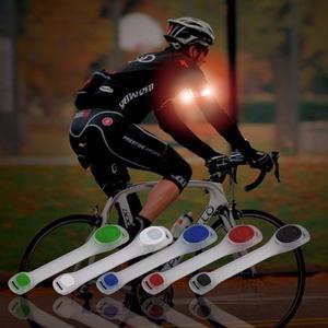 brazalete con luz para ciclismo, running y caminar, color