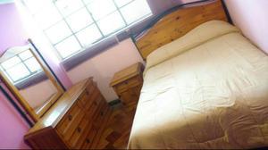 Dormitorio 2 Plazas, Cómoda Y Escritori