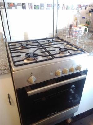 Cocina a gas bosch pro posot class - Cocina con horno ...