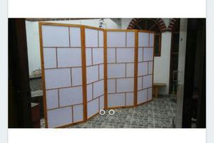 Separador de ambiente madera cedro posot class - Separador de madera ...