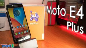 Motorola Moto E4 Plus Nuevo Caja, Mah Ultra Batería