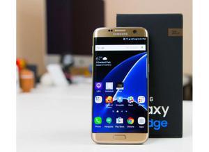 Samsung S7 Edge Dorado 32gb Usado: 9/10