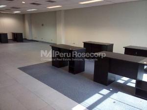 Alquiler de Oficina Implementada de 169 m² en Corpac - San