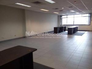 Alquiler de Oficina Implementada de 182 m2 en Corpac - San