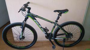 Bicicleta Montañera Leken Aluminio Aro  Velocidades